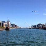 Good evening #Dublin! A truly beautiful day, and a long weekend begins...happy days. #AllAboutDublin http://t.co/82vcGJ5Wjm