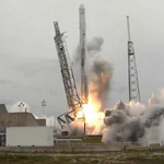 Woo hoo! Congrats @SpaceX @elonmusk RT @NASA: Liftoff of the @SpaceX Falcon 9 rocket carrying #Dragon to #ISS ! http:http://t.co/5lzDcP6RA0