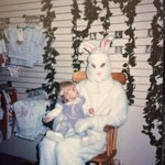 RT @redeyechicago: OK. Who has ridiculous childhood Easter Bunny photos? Heres @redeyedanas, circa 1980-something. http://t.co/QCcKyCYBJd