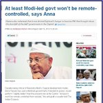 At least Modi-led govt wont be remote-controlled, says Anna http://t.co/optLxyX9hd http://t.co/UPQf1ADpRS