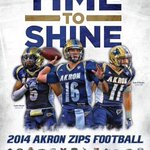 Spring game tomorrow at 1! #AkronFootball #GoZips #TNT http://t.co/KMe8KwZ1c8