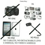 Coming to the Bruno Mars concert? CAMERA POLICY! http://t.co/SUd9aRL6gI