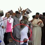 GEJ in Kano barely 24 hrs after 100 people were bombed in Nyanya & on the day 200 young girls were abducted by BH http://t.co/po7ZLa64tS