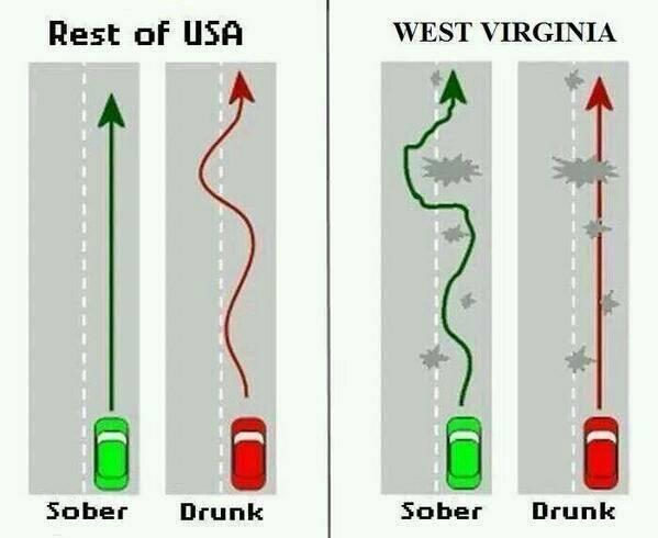 How the cops figure out who the drunk drivers are in West Virginia- Travis http://t.co/qE9siPaeJQ
