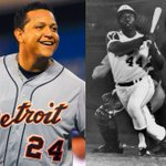 Today, Miggy turns 31.  His 366 HR and .320 AVG are the same EXACT stats Hank Aaron held on his 31st birthday. #whoa http://t.co/PvQol1ifRr