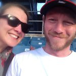 #selfies @SyracuseChiefs game! Loving the mullet themed night! http://t.co/nRJlmM0frz