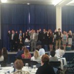 Pres. @DouglasFiefia swears in 2014-15 @UtahStateSA officers and directors. #USU #UState #AggieLife #Remember http://t.co/5MWoUQTwJW
