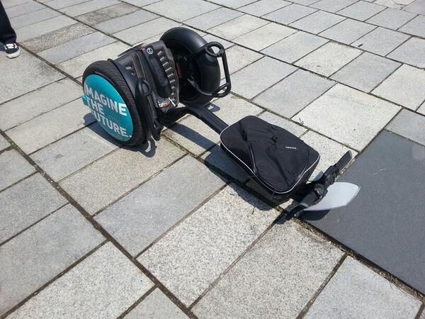 石の広場でセグウェイのれるやでー http://t.co/xUVS5BRO7h