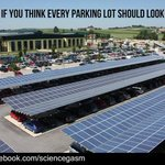 RT @2_Wheeled_Wolf: Oh yeah! RT @SimonChapman6: Share if you think every car park should look like this #solar #renewables #auspol http://t.co/8SzQ37aMBx