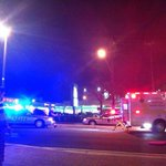 RT @thedbk: BREAKING: Were told that a Bentleys patron was just struck by a car on Route 1. Staff photo from @J_Banister http://t.co/95VTfOGfRA