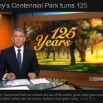 Great segment about Centennial Parks history on @9NewsSyd. Watch it here: http://t.co/hjXSsOjLyz #sydney http://t.co/5jzfFMyBRa