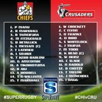 #CHIvCRU Less than an hour until game time. Heres your starting 15s #SuperRugby http://t.co/9EZX7wFwn7
