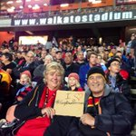RT @Sumaringa7: @ChiefsRugby Just some casual #gigatownporirura supporters waiting for kick off! #CHIvCRU #Lats100 #Rangiuru4Eva http://t.co/jWlvSZis9l