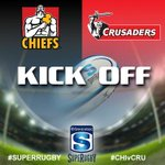 Investec Super Rugby Kick Off: Chiefs V Crusaders #CHIvCRU #SuperRugby http://t.co/2fjsNqRtHK
