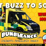 Lets all help #twitterFUND a new childrens ambulance. Text BUZZ  to 50300 http://t.co/V4o1m2Fvtp @BeeForBattens #Easter #GoodDeed