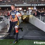 RT @SuperRugbyNZ: Tanerau Latimer leads his team on for his 100th Investec #SuperRugby match for the Chiefs #CHIvCRU (Getty Images) http://t.co/RQUtAmLWWA