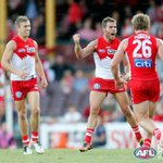 RT @AFL: FT: @sydneyswans 13.14 (92) d @Fremantle_FC 11.9 (75) Massive win for the Swans! Buddy, Pav kicked four each! http://t.co/azeaIFDZNX