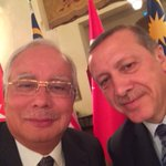 My selfie with PM Erdogan ! http://t.co/h6qWBEuAlc