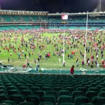 RT @JasonClareMP: Kick to Kick at the SCG after Swans beat Freemantle http://t.co/leVUFzqa6R