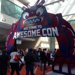 Crazy fun atmosphere at @AwesomeCon @ConventionsDC. Ive never seen anything quite like it #awesomecon http://t.co/qcgAC2IY3H