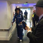 Meanwhile, the first team have arrived at Stamford Bridge...#CFC http://t.co/XWsjMYVMax