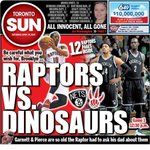 The back page was not so kind to the Nets this morning in Toronto. (via @TheTorontoSun) http://t.co/qfr2CtuIFV