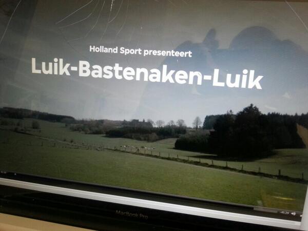 Montage van Holland Sport Special over Luik - Bastenaken - Luik. Donderdag 24 april op tv, 21.30 op Ned3, #vpro. http://t.co/4mCqwJADAB