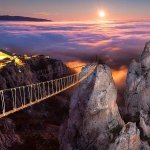 RT @ExoticScenery: Bridge to the Sky, Ukraine http://t.co/XxylOLlxJ2