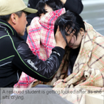 """Don't worry, you're safe here.""걱정마 여긴 안전해 #PrayForSouthKorea #Sewol #Ferry http://t.co/VWHdtNvmjw"