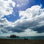 "RT @DanGasser: Very dramatic skies there! RT ""@marcthevet: Lovely down on the seafront today :) #Brighton http://t.co/utDotCXqyA"""