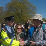 Twitter / @GardaTraffic: Gardai on duty at Battle o ...