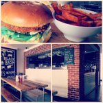 Cool brand and interior @Gotbeefco in #cardiff #burger #interiordesign http://t.co/tHcedzkWxS