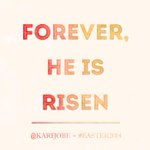Christ is risen, He is risen indeed! Happy Easter! Come celebrate this great news with us today. http://t.co/ERyeufEZMP via @karijobe