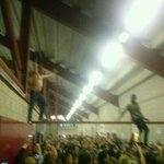 """@FBAwayDays: Leeds fans in the Barnsley con course today. #lufc http://t.co/Bq9bnP6clw"" they like climbing on stuff dont they"
