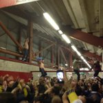 Leeds fans in the concourse before Kick-Off at Barnsley #LUFC http://t.co/PVPat7nhh0