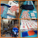 RT @fossilizedresin: I started my day off right... In a sea of blue & orange! @AU_SMCEDU @DunkinDonuts #SLS2014 #SLS14 http://t.co/xQLI3wdGPs