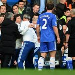 RT @kpsundayworld: Jose Mourinhos assistant Rui Faria tries to attack referee Dean. It always ends in a battle when Jose loses #CFC http://t.co/IUoaNYRiYW
