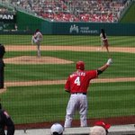RT @NatsNatitude: Its #Frozen time again at #Nats Park! Here comes @Zwalters02! #GitErDun #Nats! #RallyTime! http://t.co/zuT210gcxR
