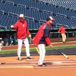 RT @Holdenradio: #Nats manager Matt Williams wants an improved defense so he hits grounders this morning. @wusa9 http://t.co/ozo2OCKCX8