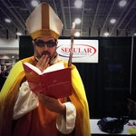 Marty Kleins Sexual Intelligence book is opening the Popes mind at #awesomecon http://t.co/kCwAuZf2em