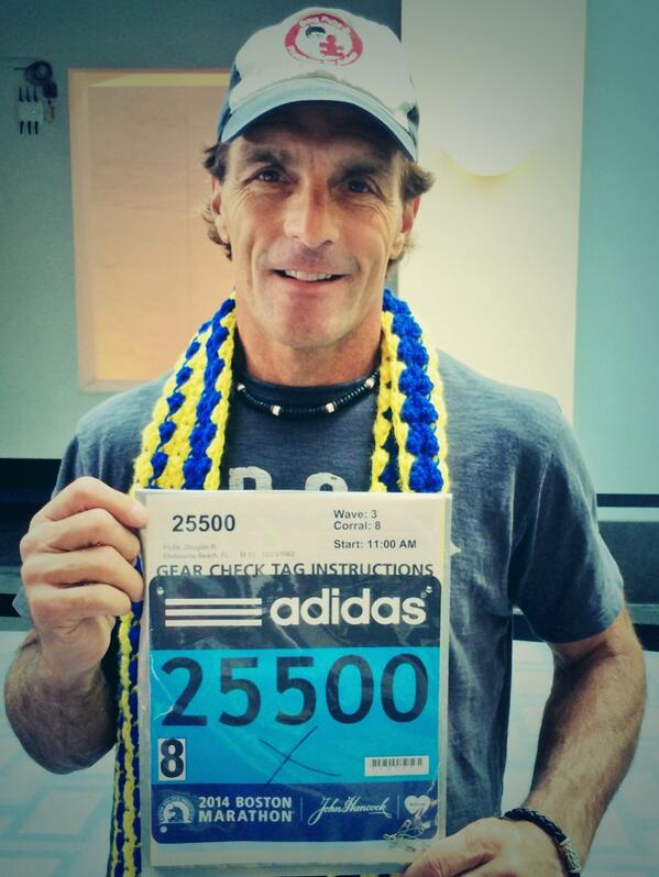 Sooo...woke up today & decided to run the @bostonmarathon just picked up my number & heading to the sox game #yup http://t.co/TsSi4weMHb