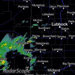 Few showers across SE New Mexico now moving to W South Plains. Showers moving to NE. #txwx http://t.co/510LAw64jp