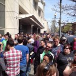 Total line management fail at #awesomecon if I hadnt pre-paid for my ticket I would go home. http://t.co/yuipKB8erA