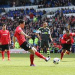 Peter Whittingham levels @CardiffCityFC against @stokecity from the spot @CardiffCityCCFC http://t.co/x9rc7HEWHk