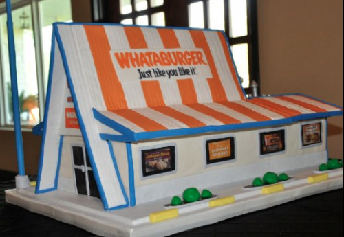 Groom cakes are big business http://t.co/aQzPZR3ReW when @Whataburger spells l-o-v-e http://t.co/fNGC39i5WI