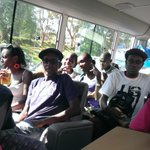 The feeling of: We are in this together> #IBuiltADorm :On the way 2 Luwero earlier today> Big ups 2 @40days_40smiles http://t.co/100zEb8h2t