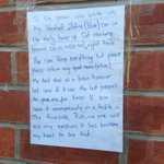 Can anybody help with this heartbreaking story spotted near The Riverside on Mowbray Street? Please share. #Sheffield http://t.co/fnjotfW1d5