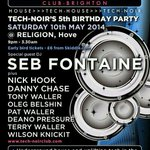 RT @deanopressure: @TechnoirClub 5th Birthday party 10th May @religionbar tickets only £6 from skiddle http://t.co/HOr3sUDYOz #Brighton http://t.co/OZO17c5oAd