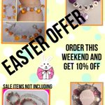 RT @WcJewellery: Easter offer.. This weekend only! #handmadehour #wineoclock #easter #offer #Cardiff #handmade http://t.co/XkjPMEklAA