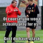 Rodgers Pre-Season discussions with @borinifabio29 #LFC @empireofthekop http://t.co/i0eUyPrdxv